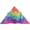 9 ft. Delta - Rainbow Triangles Kite